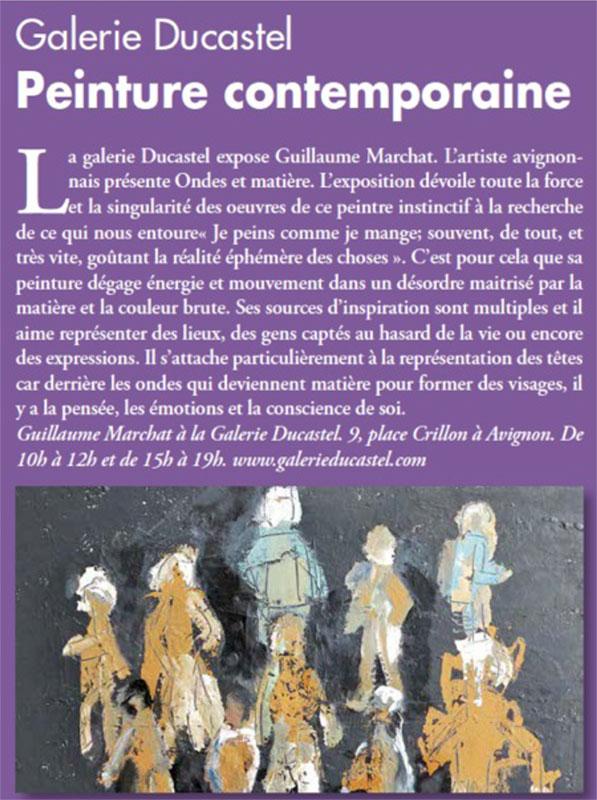 Guillaume Marchat L'Echo du mardi