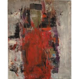 1100 EUROS : robe rouge