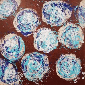 1500 euros: Fleurs bleues 2