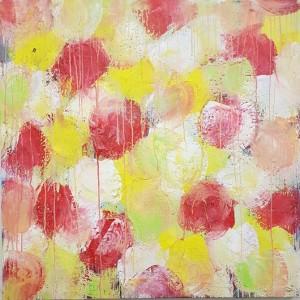 1500 euros: Fleurs rouges jaunes et blanches